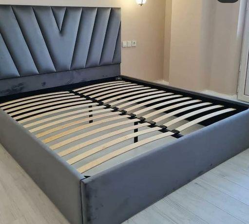Кровать Двухспальная  в Алматы с Доставкой Рассрочка есть