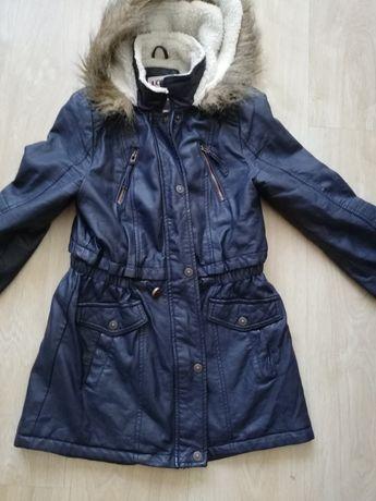 Кожено зимно палто LCW