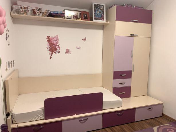 Mobila camera tineret pentru fetita