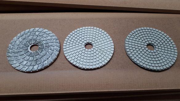 Диамантени дискове за полиране на мрамор и гранит