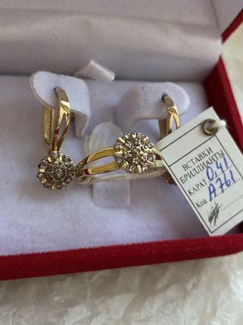 Золото, бриллиантовый набор