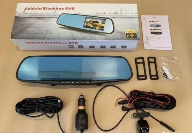Зеркало авто регистратор с камерой заднего вида