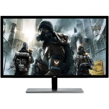 "Monitor Gaming LED MVA AOC 31.5"", Wide, 75 Hz, QHD, DVI, HDMI, Display"