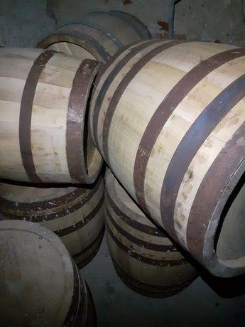 Butoaie de salcâm uscate din lemn de 10 ani