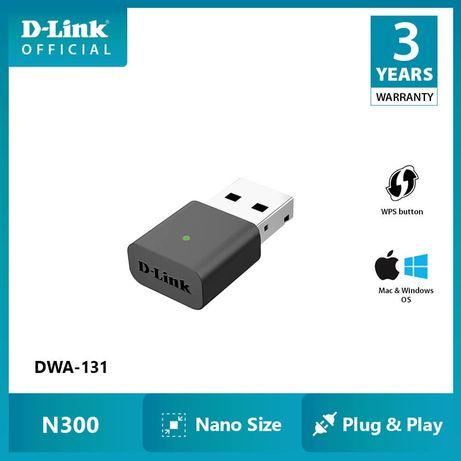 USB Wi-Fi адаптер D-Link DWA-131, 802.11n