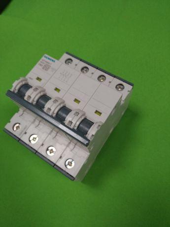 Трифазен четири полюсен предпазител Siemens 5SY4663-7
