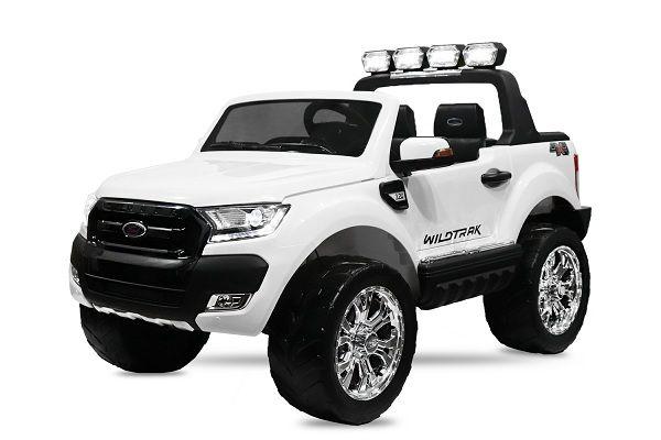 Masinuta electrica Ford Ranger 4x4 cu ROTI MOI 4x45W #ALB Bacau - imagine 1