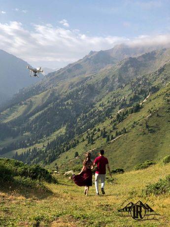 Фото и Видео с Дрона,Квадрокоптер, Аэросьемка (Dji phantom 4 pro)
