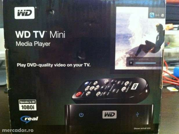 Vand Mini Media Player Western Digital -ca nou-folosit de maxim 5 ori