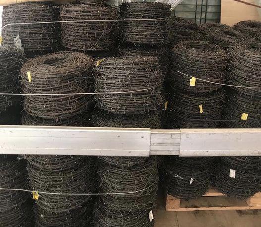 Sarma ghimpata neagra / zincata 100-200m