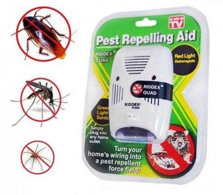 Riddex Quad Уред против гризачи, хлебарки, мравки, паяци и др
