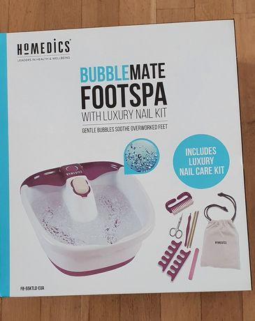 Bubblemate foot spa