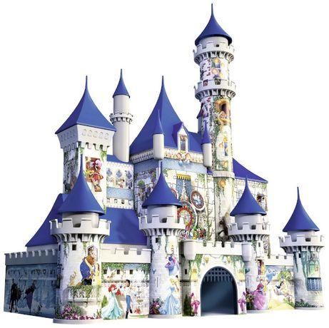 Puzzle Disney 3D RAVENSBURGER din plastic - piese lipsa