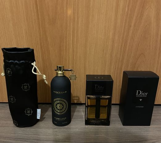 Montale Pure Love, Dior Homme Intense
