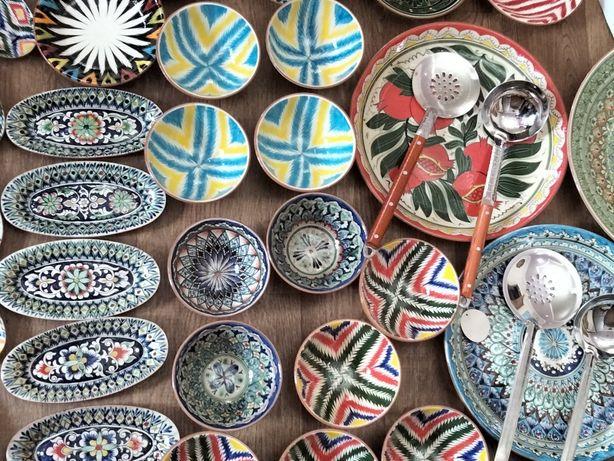 Узбекский посуда керамическая.Ручная работа