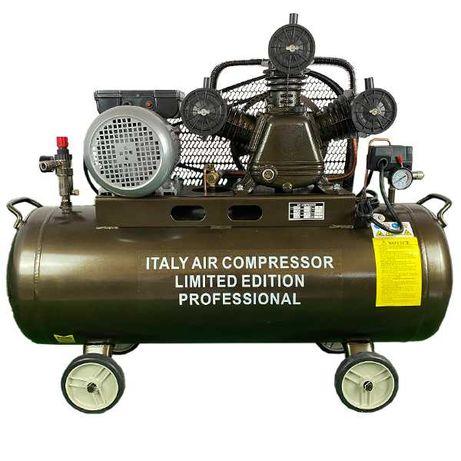 Компресор за въздух с 3 /три глави/ и обем на съда 100 литра