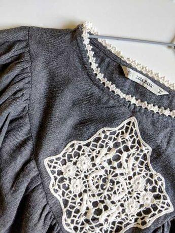 Bluza tip IE bumbac Zara