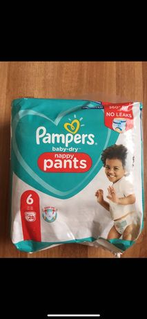 Pampers Baby Dry Гащи размер 6