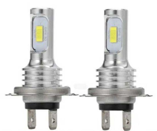 LED крушки за фар H7 ново поколение без вентилатор