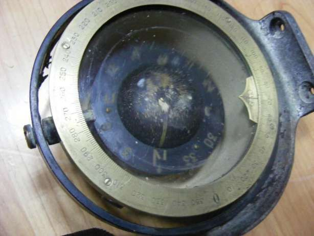 Girocompas naval(busola, navigatie, maritim)instrument vedete militare
