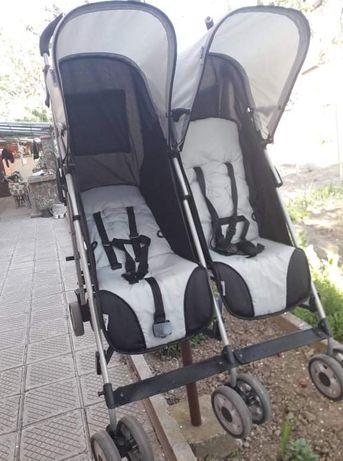 Лятна количка за близнаци