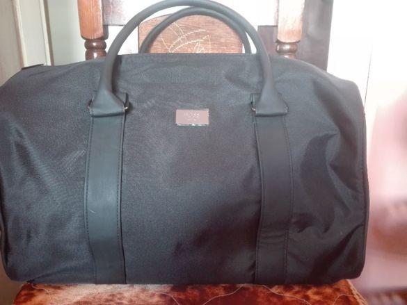 Hugo Boss Parfums Black Duffle Bag Weekender
