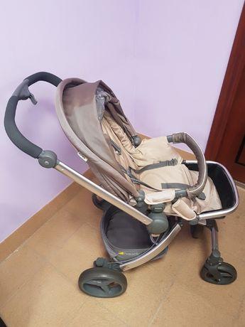 Комбинирана детска количка 3в1 - Hauck Twister Lime