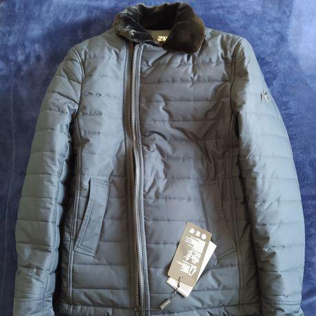 Мужская зимняя куртка, отличный подарок или же на кудалык, новый