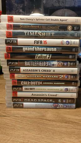 Jocuri ps3 Gta IV, Splinter Cell, Call of Duty etc.