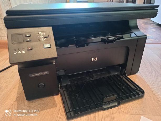 Hp M1132 принтер сканер ксерокс 3в1 новый картридж Доставка Бесплатно