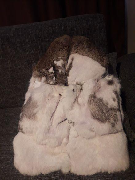 Продавам елек от естествен косъм от заек