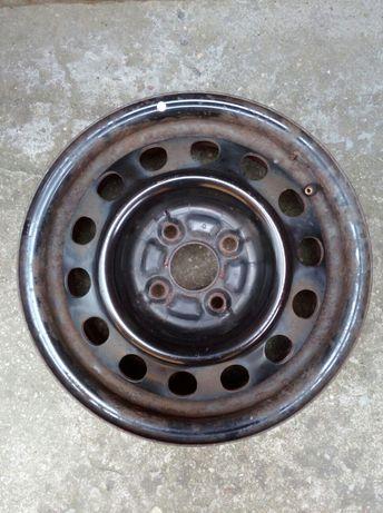 Джанти метални 2 броя с маркировка по тях 14х5 1/2J TOPY 9