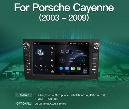 Мултимедия за Порше Кайен Porsche Cayenne GPS Навигация Андроид 10.1