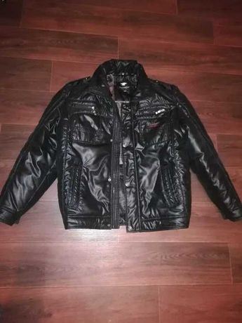 Продам куртку кожанную.BlackWolf.