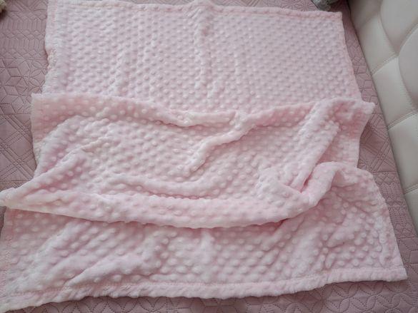 Нова!Розова бебешка пелена LCWaikiki