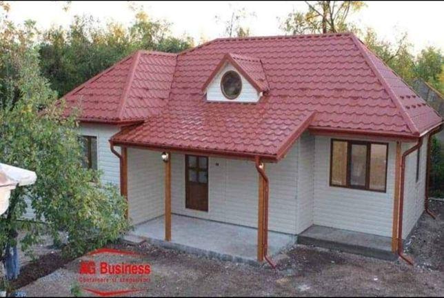 Vand container stil casa de vacanta 18x6m
