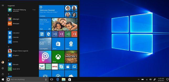 instalare windows, upgrade la ssd, curatare/schimbare pasta laptop, pc