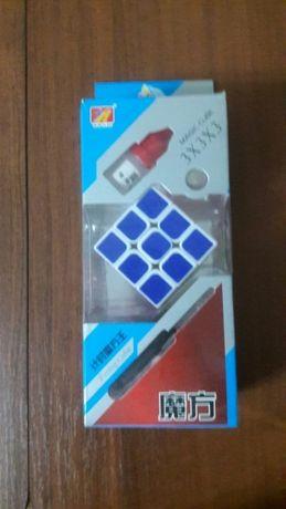 Магический кубик рубик с таймером