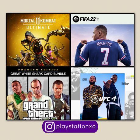 FIFA 22 Запись Игр PS4/PS5 PlayStation 4/5 фифа22