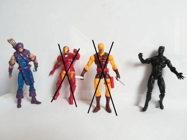 Figurine Marvel legends Daredevil , Hawkeye 10 cm