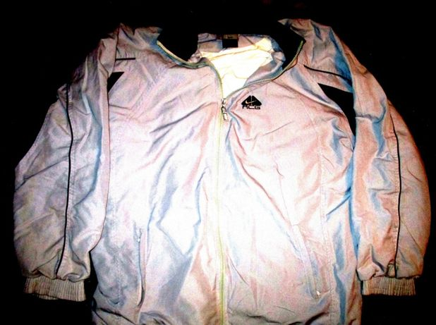 Bluza trening Adidas bleumarin, material tercot, 2 buzunare cu fermoar