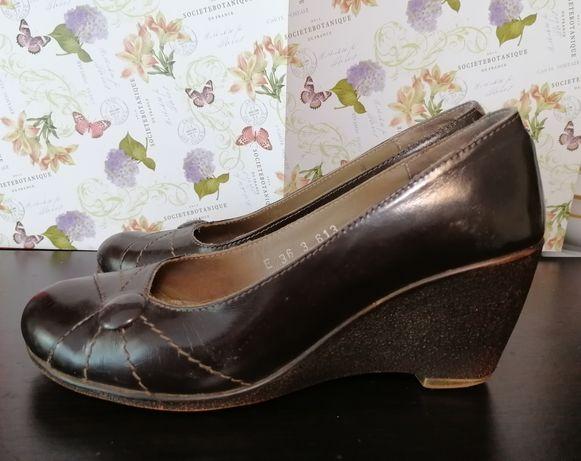 Pantofi piele naturala, marimea 36