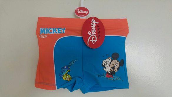 Нови бански Disney Mikey Mouse и къси панталонки Спайдерман -18-24