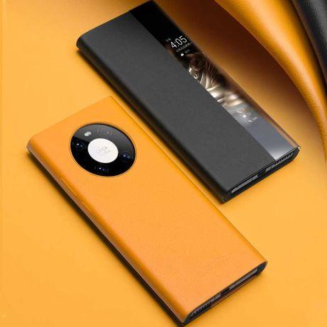 Husa Huawei Mate 40 Pro, 30 Pro, P40 Pro, P30 Pro, smart cover Qialino