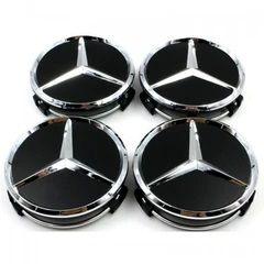 set 4 Capace mercedes negru/matt doar pentru jante originale Benz