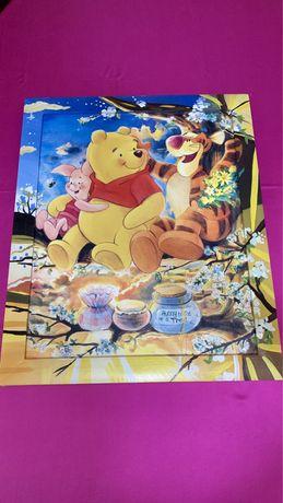 Tablou copii Winnie the Pooh 57x46