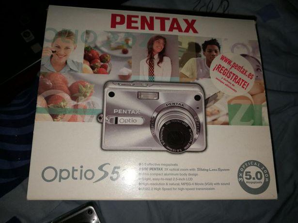 Camera foto. Pentax Optio S5z