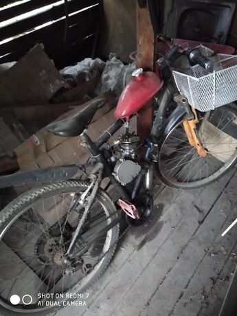 Велосипед с мотором , веломопед ,веломотор