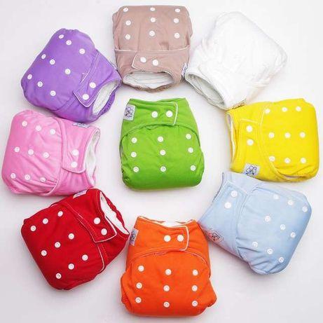Scutece ajustabile refolosibile bebeluși capse 3 buc
