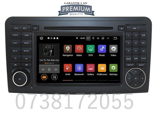 Navigatie GPS Android Mercedes ML W164 GL X164 DVD MP3 Wi-Fi 4G